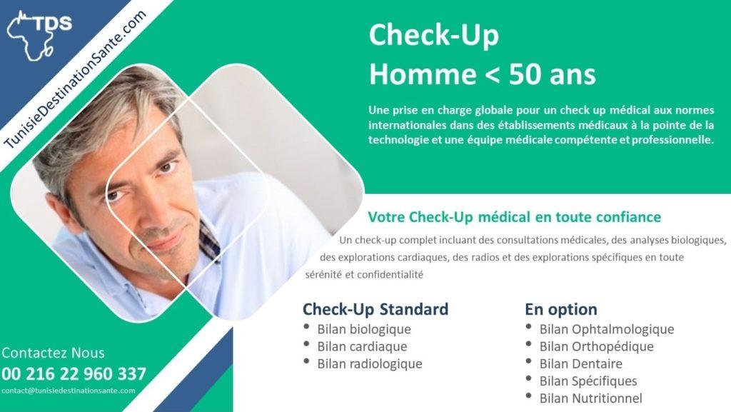 bilan santé checkup homme