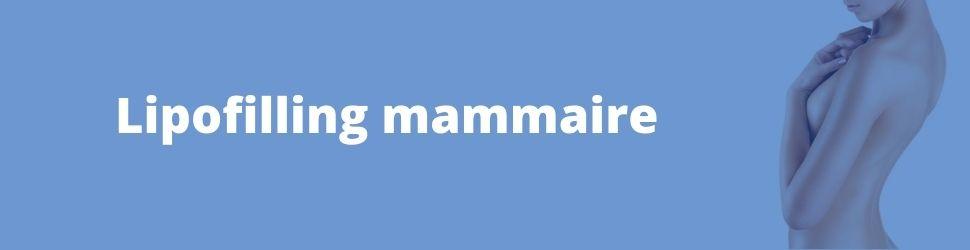 lipofilling mammaire ou augmentation mammaire par injection de graisse